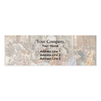 Domenico Ghirlandaio: Slaughter of the Innocents Double-Sided Mini Business Cards (Pack Of 20)