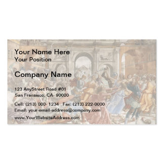Domenico Ghirlandaio: Slaughter of the Innocents Double-Sided Standard Business Cards (Pack Of 100)