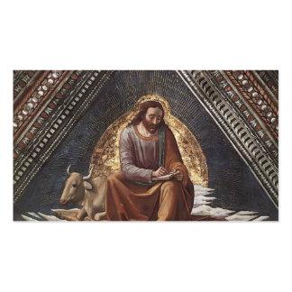 Domenico Ghirlandaio: St Luke Tarjetas De Visita