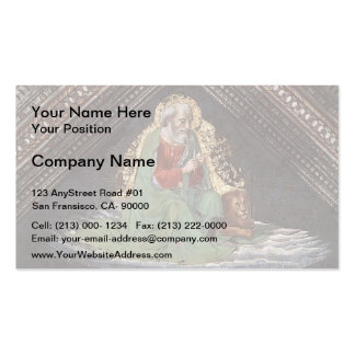 Domenico Ghirlandaio: St. Mark the Evangelist Double-Sided Standard Business Cards (Pack Of 100)