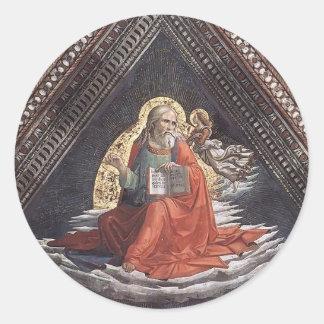 Domenico Ghirlandaio: St. Matthew the Evangelist Sticker