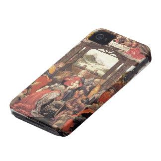 Domenico Ghirlandaio- The Adoration of the Magi iPhone 4 Case-Mate Case