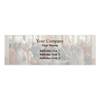 Domenico Ghirlandaio: The Death of St. Francis Double-Sided Mini Business Cards (Pack Of 20)