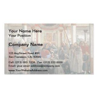 Domenico Ghirlandaio: The Death of St. Francis Double-Sided Standard Business Cards (Pack Of 100)