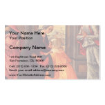 Domenico Ghirlandaio- The Visitation Double-Sided Standard Business Cards (Pack Of 100)