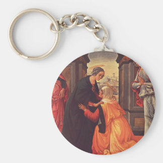 Domenico Ghirlandaio- The Visitation Key Chain