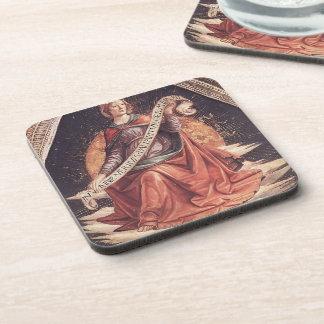 Domenico Ghirlandaio: Una sibila Posavasos De Bebidas