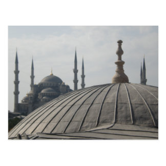 Domes and Minarets 2 Postcard