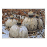 Domes of San Marco Greeting Card