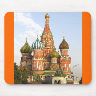 """DOMES OF ST. BASIL'S, MOSCOW"" MOUSE MAT/MOUSEPAD MOUSE PAD"