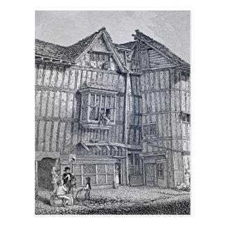 Domestic Architecture, 1791 Postcard