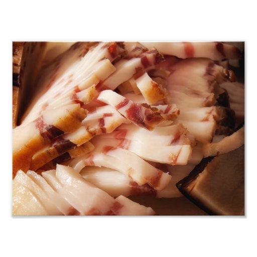 Domestic bacon photo print