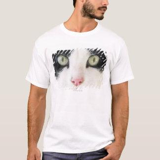 Domestic cat portrait T-Shirt