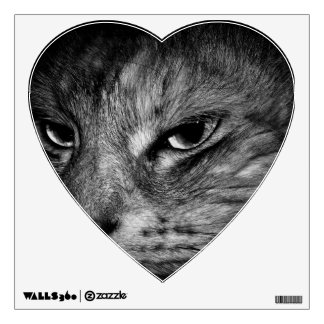 domestic-cat wall decal