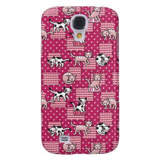 Domestic Cats Galaxy S4 Cover