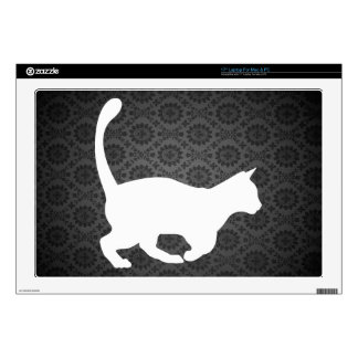 """Domestic Cats Symbol Skins For 17"""" Laptops"""