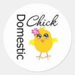 Domestic Chick Sticker