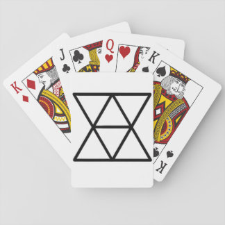 Domestic Diplomats Logo Playing Cards