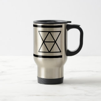 Domestic Diplomats Logo Stainless Steel 15oz Mug