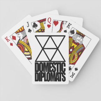 Domestic Diplomats Playing Cards