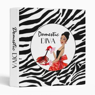 Domestic Diva Binder / African American Diva