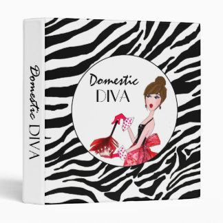 Domestic Diva Binder / Dark Hair