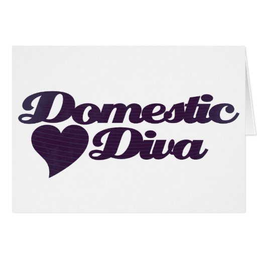 Domestic Diva Card