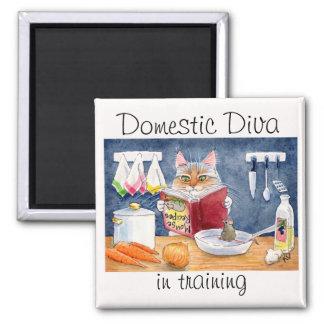 Domestic Diva in training magnet