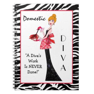 Domestic Diva Notebook
