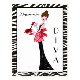 """""""Domestic Divas"""" Postcards"""