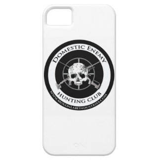 Domestic Enemy Hunting Club iPhone Case