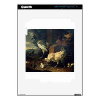 Domestic fowl with a pheasant and peacocks iPad 3 skins