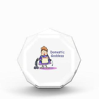 Domestic Goddess Acrylic Award
