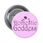 Domestic Goddess Button