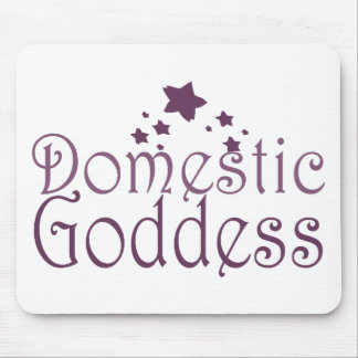 Domestic Goddess Mouse Pad