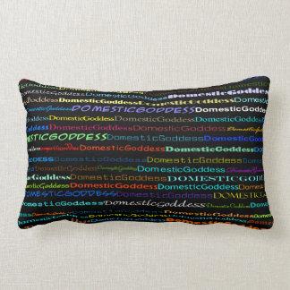 Domestic Goddess Text Design I Lumbar Pillow