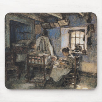 Domestic Interior, Wissant, 1913 Mouse Pad