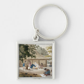 Domestic life in Kupang, Timor, plate 10 from 'Le Keychain