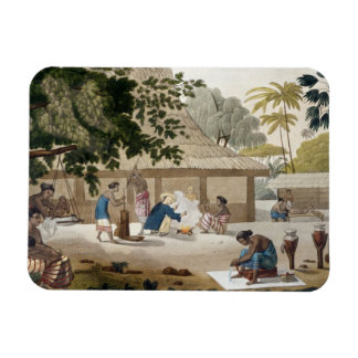 Domestic life in Kupang, Timor, plate 10 from 'Le Magnet