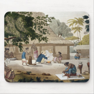 Domestic life in Kupang, Timor, plate 10 from 'Le Mouse Pad