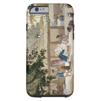 Domestic life in Kupang, Timor, plate 10 from 'Le Tough iPhone 6 Case