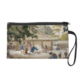 Domestic life in Kupang, Timor, plate 10 from 'Le Wristlet Purse