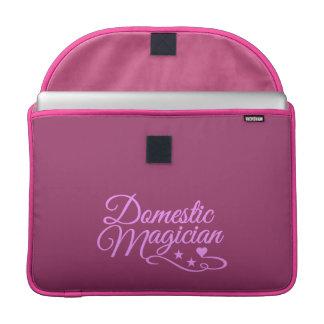 "Domestic Magician custom 15"" MacBook sleeve"