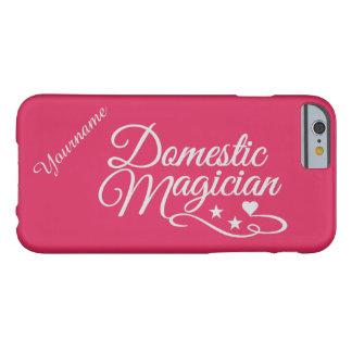 Domestic Magician custom color & text cases