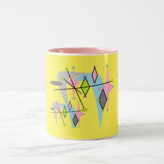 Domestic Not Basic Atomic Googie-Style Mug
