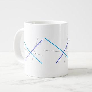 Domestic Not Basic Mid Century Modern Jumbo Mug