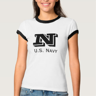 Domestic Not Basic Vintage Navy Bootcamp Tee