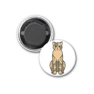 Domestic Shorthair Cat Cartoon Magnets