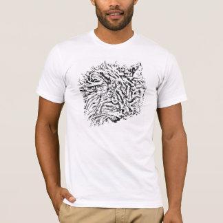 Domestic Tiger Pop Art T-Shirt