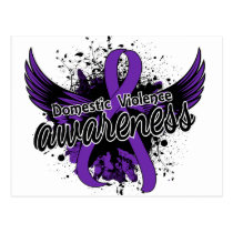 Domestic Violence Awareness 16 Postcard